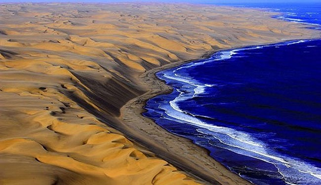 عکسهای جالب از کویر پر آب