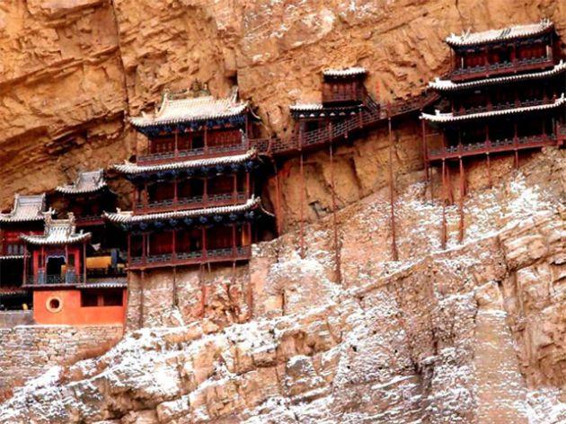 XUAN-KONG-SI-Hanging-Chinese-Monastery-6