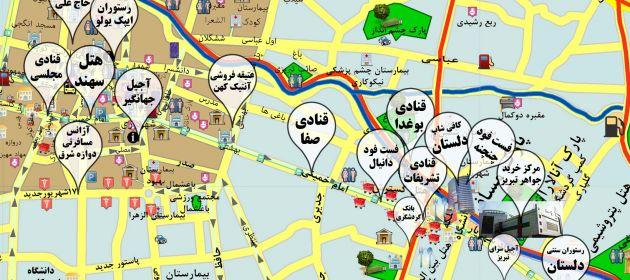 نقشه خودمون