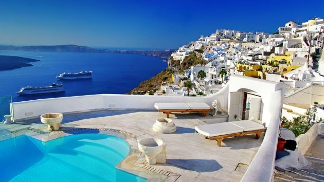 Santorini-Greece-Desktop-Wallpaper