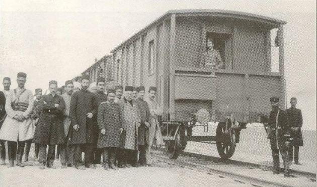 قطار برقی جلفا