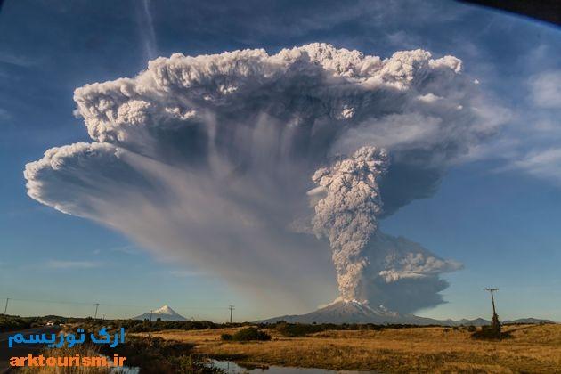 آتشفشان کالبوکو شیلی (10)