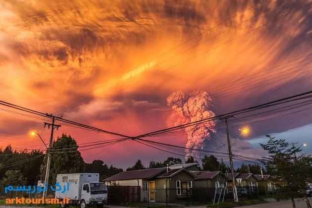 آتشفشان کالبوکو شیلی (11)