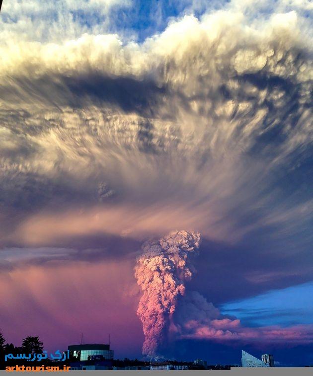 آتشفشان کالبوکو شیلی (12)