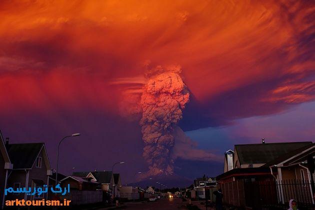 آتشفشان کالبوکو شیلی (14)