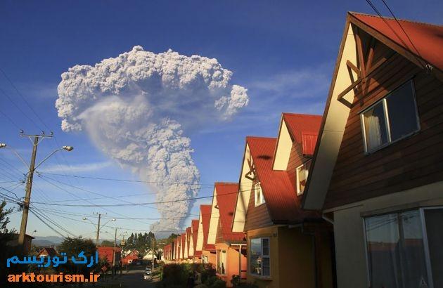 آتشفشان کالبوکو شیلی (2)
