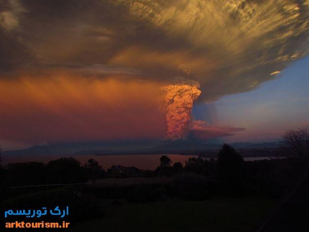 آتشفشان کالبوکو شیلی (3)