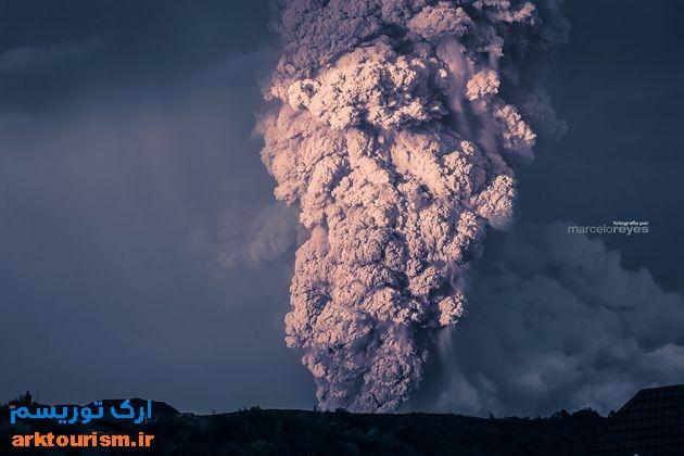 آتشفشان کالبوکو شیلی (4)