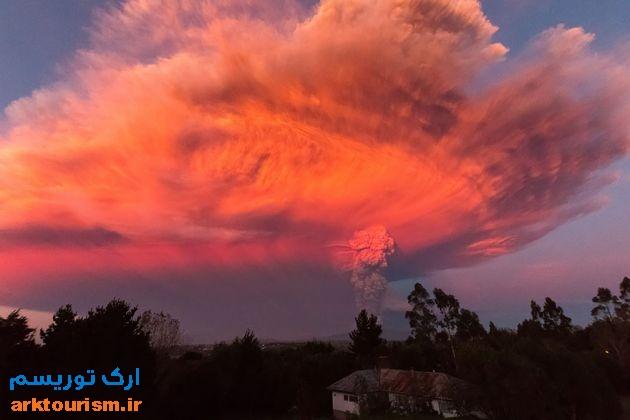 آتشفشان کالبوکو شیلی (5)