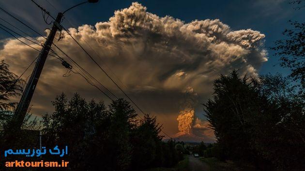 آتشفشان کالبوکو شیلی (6)