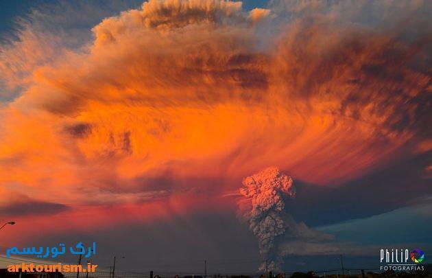 آتشفشان کالبوکو شیلی (7)