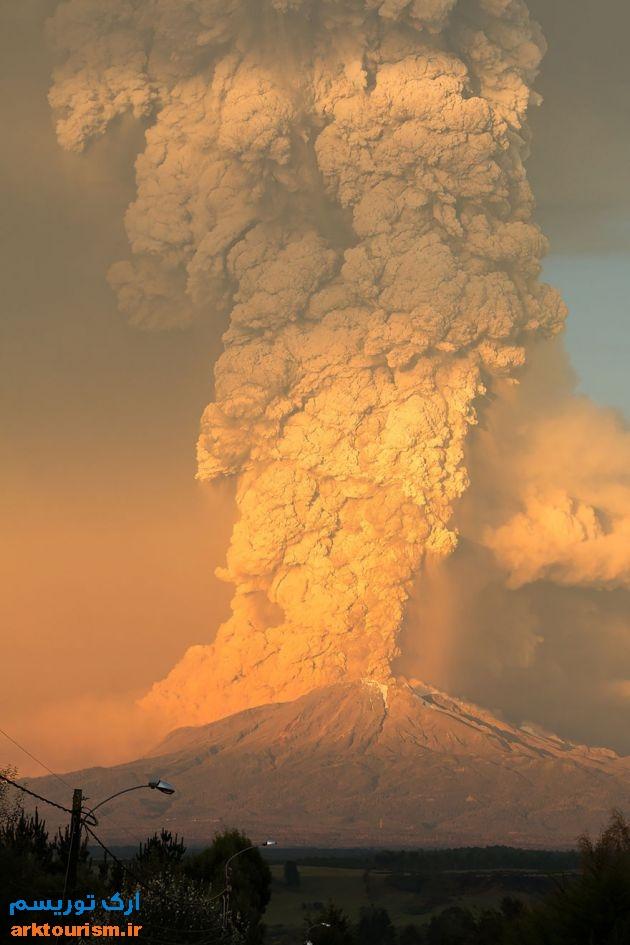 آتشفشان کالبوکو شیلی (8)
