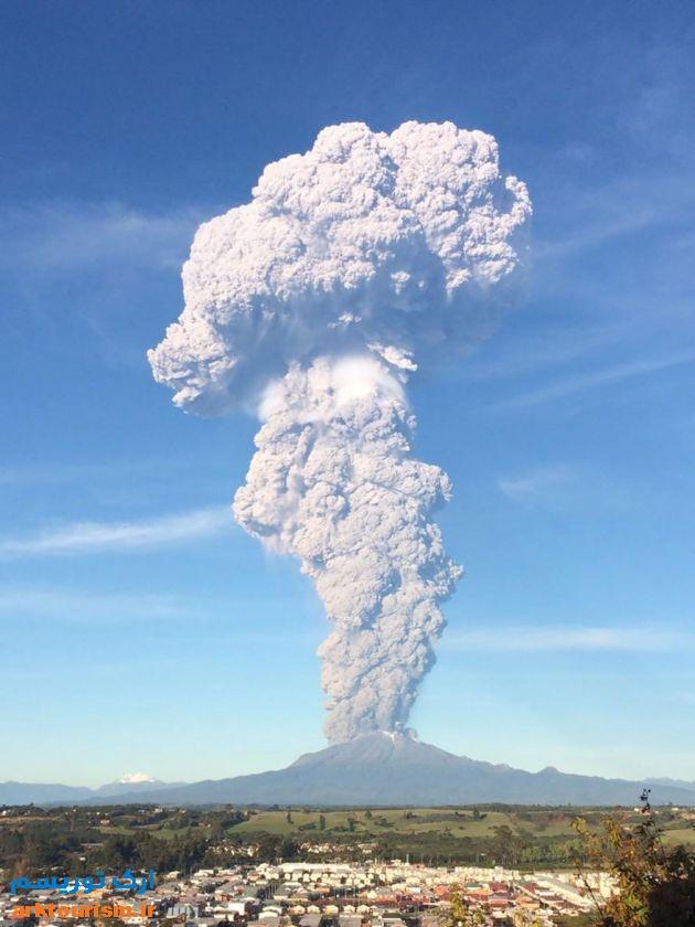 آتشفشان کالبوکو شیلی (9)