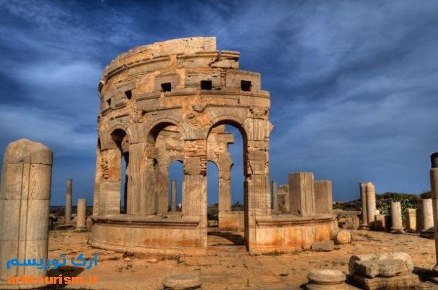 Leptis-Magna-in-Libya_Market-relics_5820لپتیس مگنا