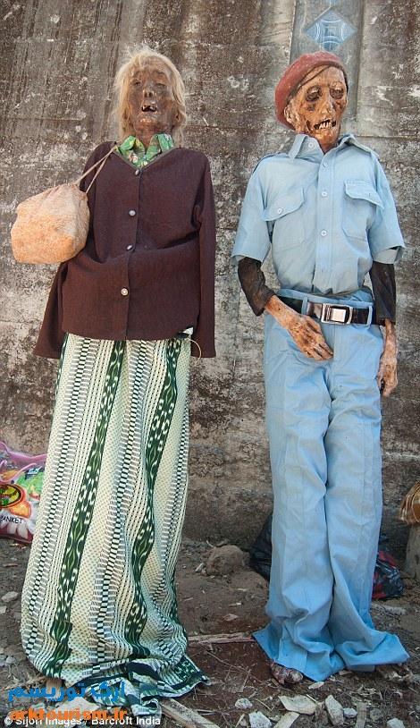 آرایش مردگان اندونزی (10)