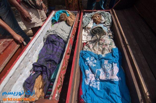 آرایش مردگان اندونزی (2)