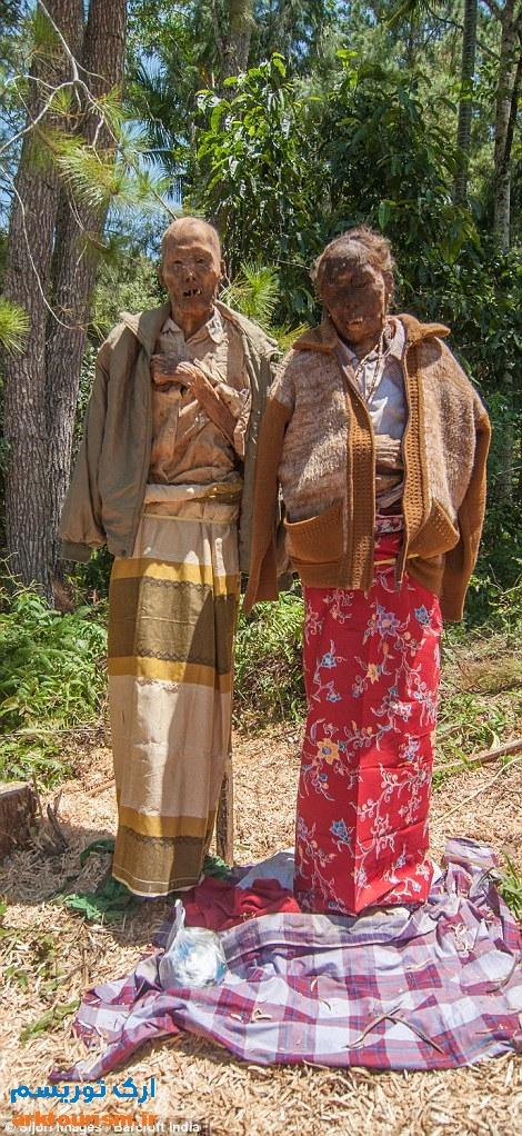 آرایش مردگان اندونزی (4)