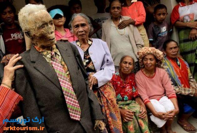 آرایش مردگان اندونزی (7)