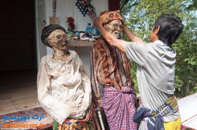 آرایش مردگان اندونزی (9)