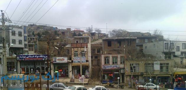 نمایی از شهر آبش احمد