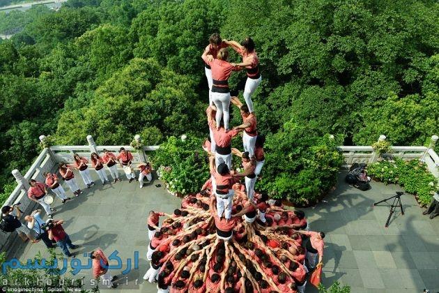 برج انسانی (4)