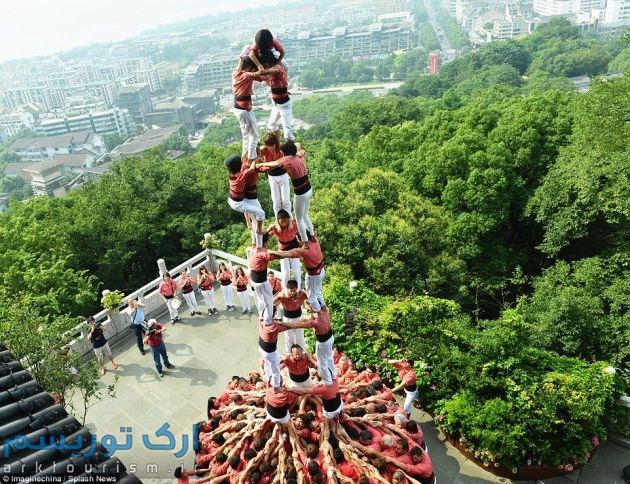 برج انسانی (6)