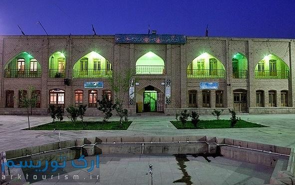 نمایی از مسجد سید حمزه تبریز