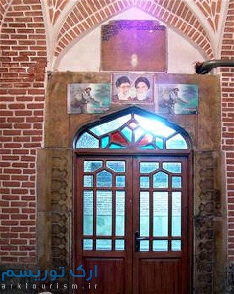 نمایی از مسجد ظهیریه تبریز