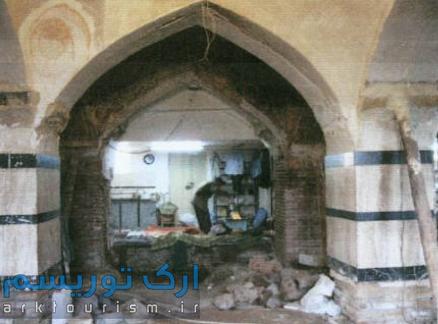 نمایی از مسجد قراملک تبریز