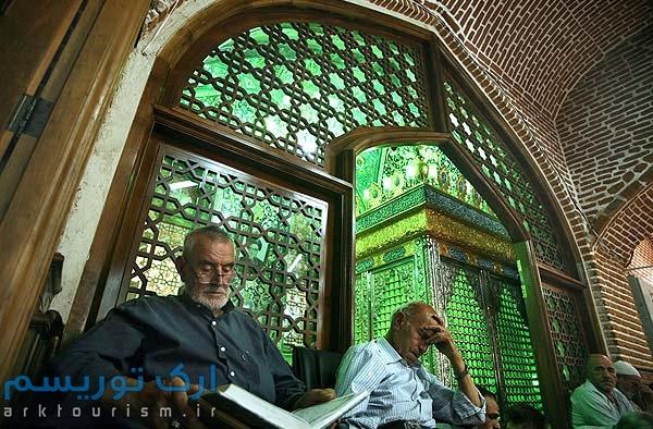 نمایی از مسجد مقبره تبریز