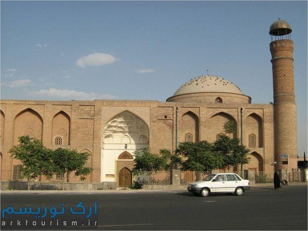 نمایی از مسجد صاحب الامر