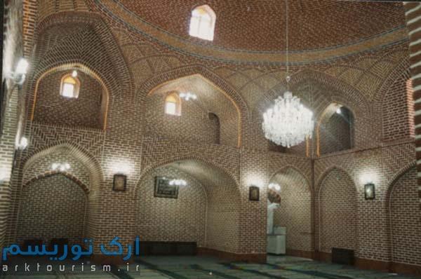 نمایی از مسجد استاد و شاگرد تبریز