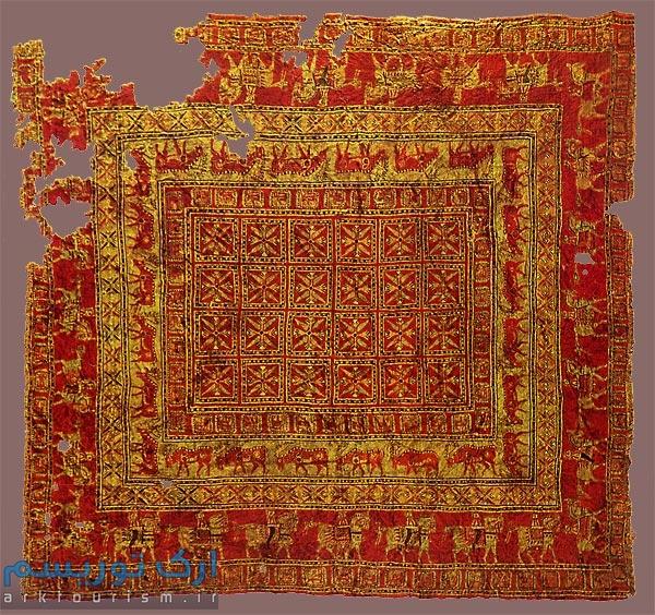 قالی پازیریک، قدیمیترین فرش یافتهشده در جهان