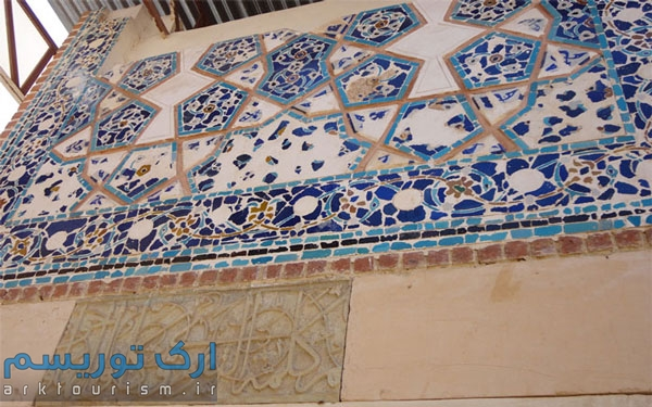 نمایی از مسجد حسن پادشاه تبریز