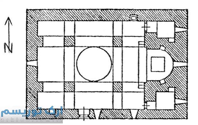 نقشه کلیسای سورپ پطرس