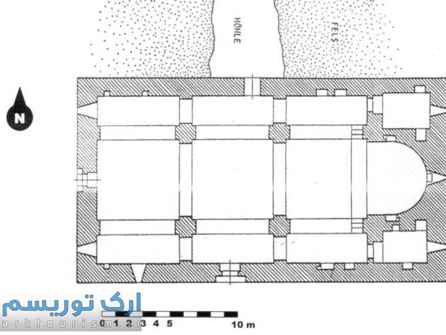 نقشه 3- پلان کلیسای سورپ هریپسیمه