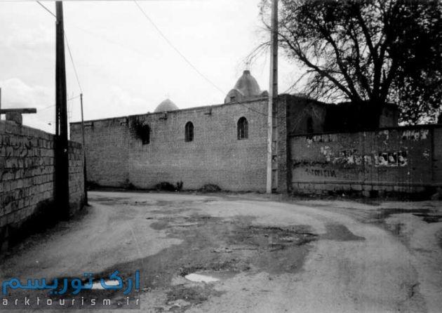 نمای ضلع شمالی کلیسا