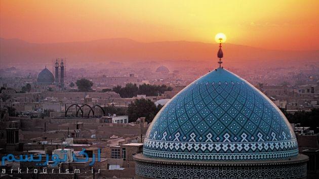 beautiful-jame-masjid-yazd-iran-hd-wallpaper