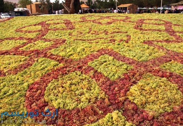 استقبال بی نظیر از سومین جشنواره انگور ارومیه