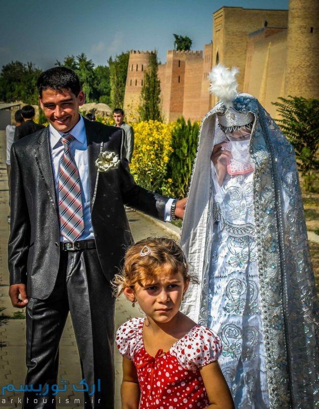 Tadjikistan wedding