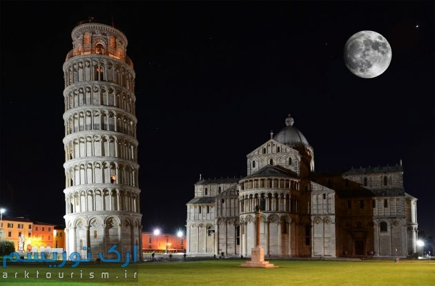 leaning tower of pisa (2)