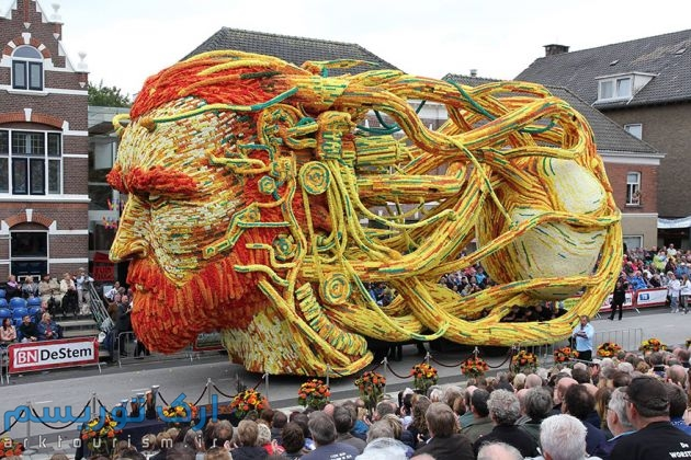 van gogh flower parade floats (14)