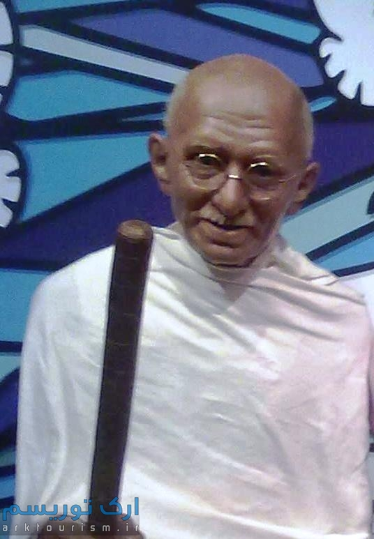 Mohanda_Karamchand_Gandhi_Wax_Statue_in_Madame_Tussauds_London