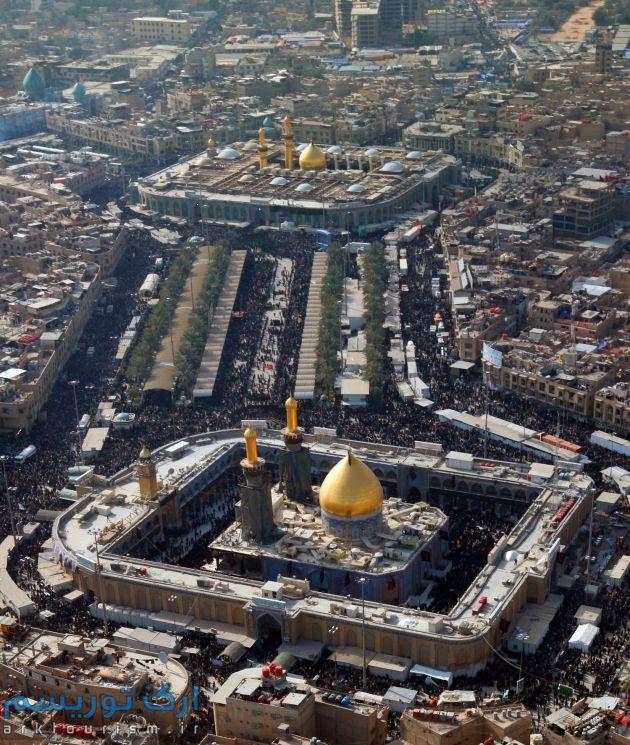 Santuario del Imam Hussain(P) y Abalfadl Al-Abbas(P) en Karbala