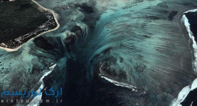 آبشار-Underwater،-جزیره-موریس3