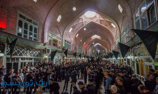 عزاداری-در-تیمچه-مظفریه-بازار-تبریز-16